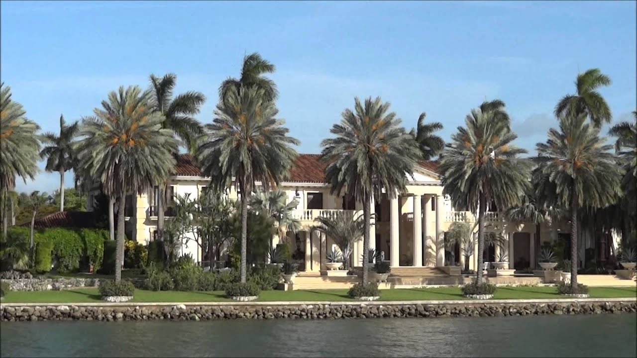Star Island Miami Celebrities Houses 50 Million House Vlog Russian In Usa Part 31