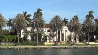 Star Island Miami. Celebrities Houses. $50 million House! Vlog: Russian Girl in USA. Part 31