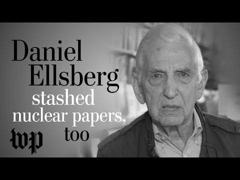 Opinion | Daniel Ellsberg stashed top-secret nuclear war papers, too