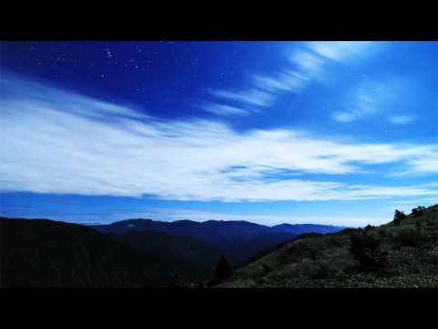 Time lapse Clouds in the Moonlight #timelapse