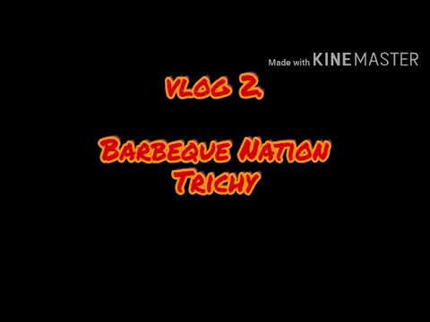 My 2 Vlog🍽️🍽️ Barbeque Nation Trichy 🍢🍢🍢🍽️