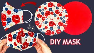 New Style Easy Face Mask Diy Breathable Face Mask Easy Pattern Sewing Tutorial Mask Making Ideas