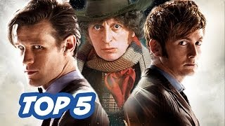 TOP 5 Best Doctors - Doctor Who Week(, 2013-11-22T08:05:24.000Z)