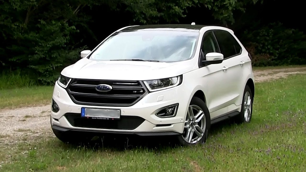 Ford Edge   Tdci Bi Turbo  Hp Test Drive