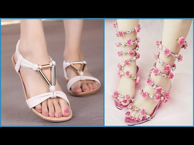 Flat Ladies Slipper & Sandals | Ladies Footwears | Ladies Summer Shoes | High Heels Sandals
