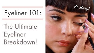Eyeliner 101: Everything You Need To Know | How to Apply Pencil Liner