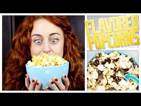 Make 3 Kinds Of Flavored Popcorn! - Do It, Gurl