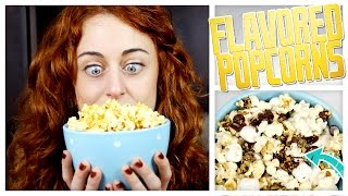 3 Kinds Of Flavored Popcorn - Do It, Gurl