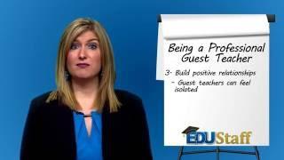 SubTalk: The Professional Guest Teacher