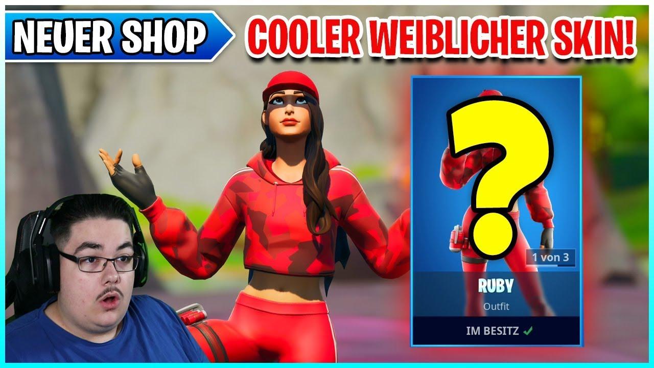Richtig Cooler Weiblicher Ruby Skin ist da! 🛒 Fortnite ...