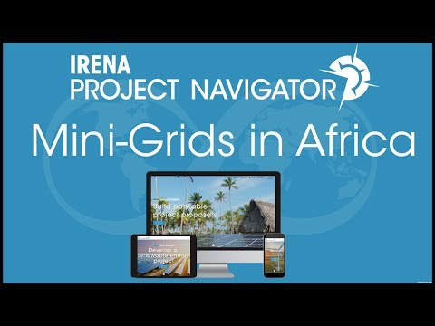IRENA Project Navigator Webinar: Mini-Grids in Africa (in French)