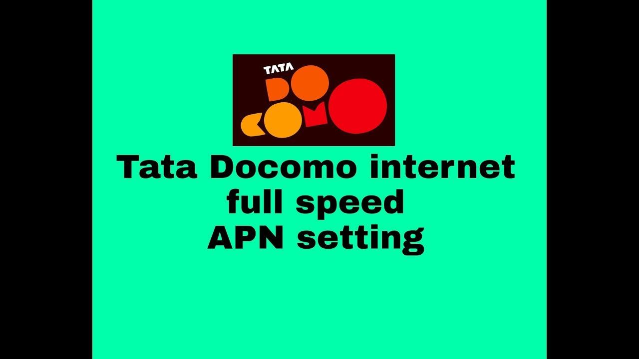 Tata DoCoMo APN Settings - APN Settings India