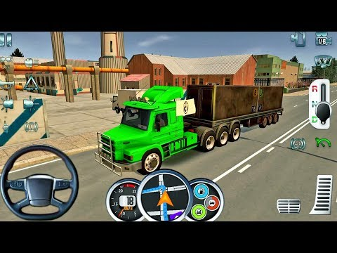 Euro Truck Driver 2018 #21 - New Truck Game Android gameplay
