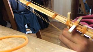 連射 割り箸 鉄砲