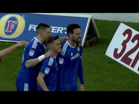 HIGHLIGHTS: LEEDS UNITED 0-2 CARDIFF CITY
