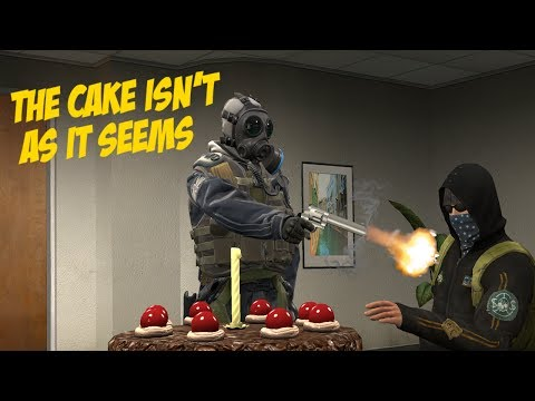 """""""Let Them Eat Cake"""" 