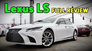 2018 Lexus LS 500: FULL REVIEW | LS 500h & F-Sport