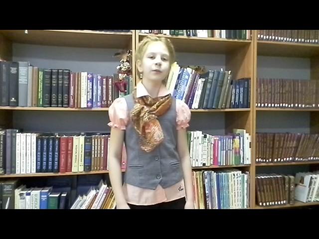 Изображение предпросмотра прочтения – ВикторияОбыденная читает отрывок изпроизведения «Крестьянские дети» Н.А.Некрасова