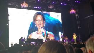 Josh Groban & Sarah McLachlan duet  Angel New Orleans 07152016