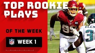 Best Plays from Rookies Week 1 | NFL 2020 Highlights