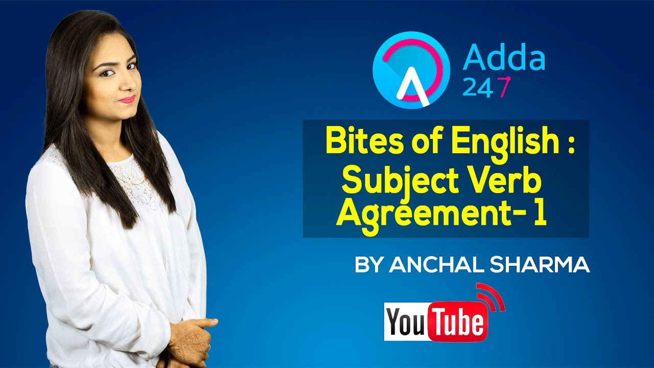 Subject Verb Agreement Rules Learn English Grammar Part 1 Youtube