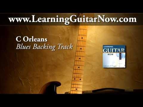C Blues Backing Track