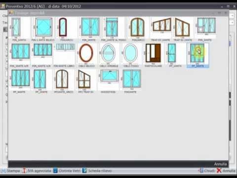 Preventivi serramenti in 2 minuti con software pragma for Programma per creare cucine gratis