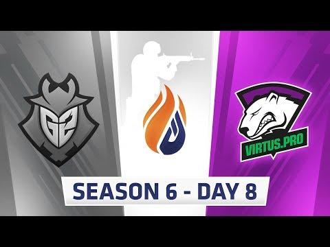 ECS Season 6 Day 8 G2 vs Virtus.Pro - Dust2