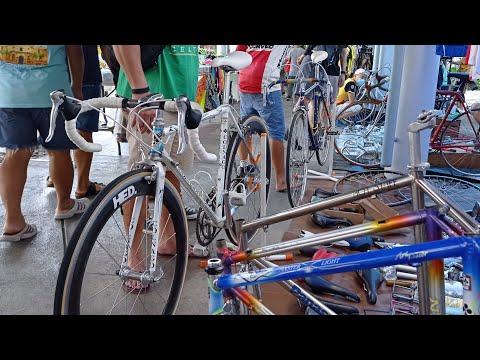 ตลาดนัด ทีโอที ร้านจักรยานวินเทจ vintra TOT Market  Bikes Shimano105 Ultegra