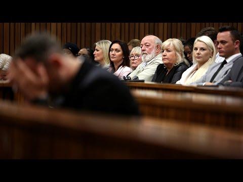Pistorius, Steenkamp families arrive for closing arguments in Oscar sentencing