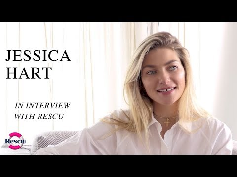 Jessica Hart On Building Her Beauty Empire