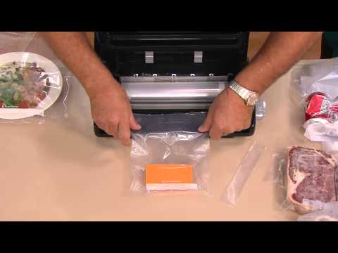 FoodSaver V2470 Stainless Steel Vacuum Sealer with Built-in Roll Storage with Mary Beth Roe