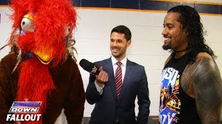 the gobbledy gooker goes uso crazy smackdown fallout november 26 2015