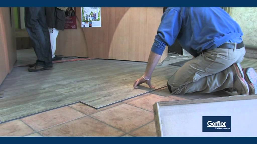 Gerflor Lvt Creation Clic Installation Youtube