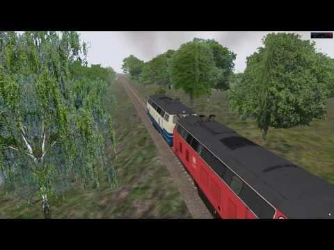 Driving the DB Class 218 in OMSI 2 ( Spandau ) |