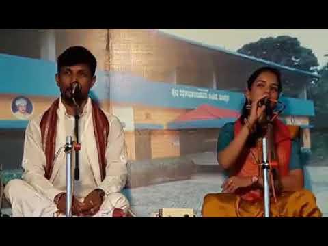 Yakshagana video :Bhagavatharu :-Sathish Shetty Patla .Kavyasree ajeru