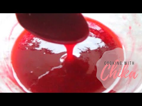 Fresh Raspberry Sauce – Raspberry Coulis Recipe | Borrowed Delights - Episode 70