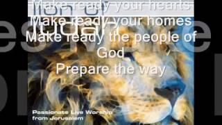 Prepare The Way Paul Wilbur Lyrics