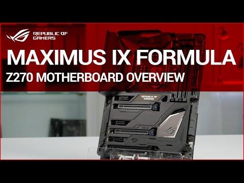 ROG MAXIMUS IX FORMULA Z270 Motherboard overview