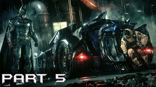 Batman Arkham Knight Gameplay #Part 5 - #Escort the workers to Gordon