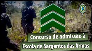 Concurso de admissão à Escola de Sargentos das Armas (EsSA)