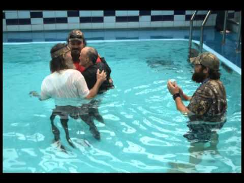 Image result for duck dynasty baptism
