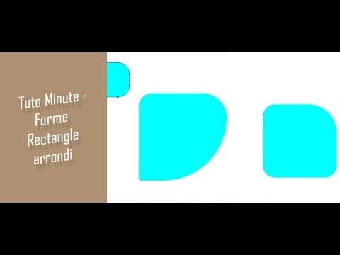 Astuce minute : Forme carré arrondie