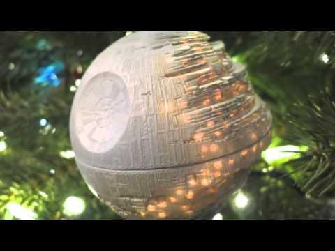 2002 Hallmark Death Star Ornament - YouTube