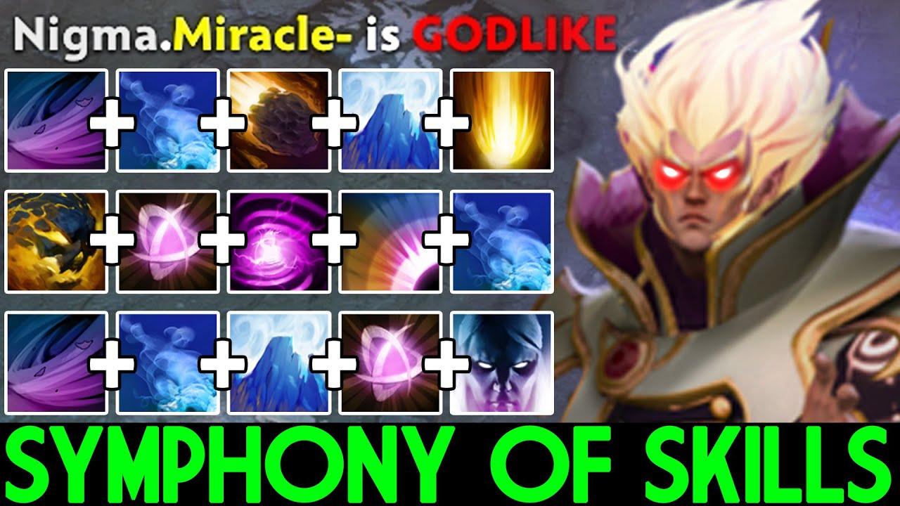 MIRACLE [Invoker] Symphony of Skills Beast Mode Dota 2