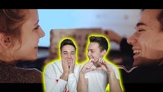 WIR REAGIEREN AUF DEN SONG MEINER FREUNDIN ! 😍😱 Carina Spoon - DANKE ! LIEBESLIED! | Max und Chris