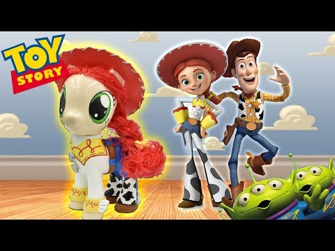 JESSIE TOY STORY PONY Custom Tutorial Disney Cowgirl My Little Pony MLP
