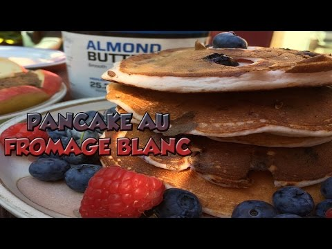recette-:delicieux-pancakes-proteines-au-fromage-blanc