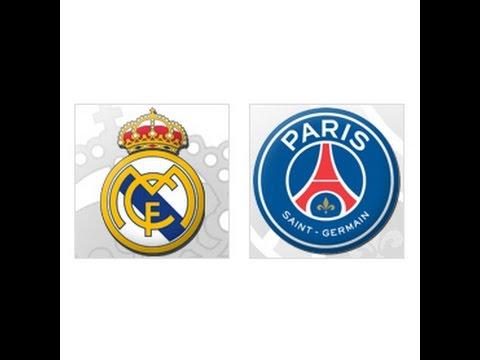 Реал Мадрид - ПСЖ. Весь матч. Международный турнир Чемпионов.