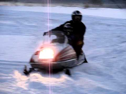 1977 Yamaha Exciter 440 Snowmobile Vintage Classic absolutley mint
